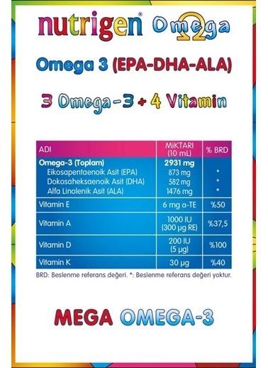 Nutrigen Nutrigen Omega Şurup 200 Ml Renksiz